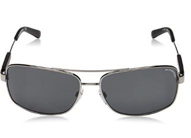 Burberry occhiali da sole contemporanei in metallo