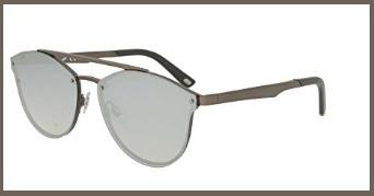 Occhiali web eyewear in metallo