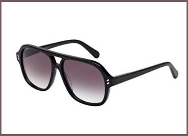 Stella mccartney occhiali black e grey