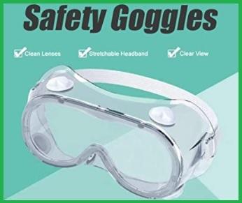 Occhiali antispruzzo protettivi