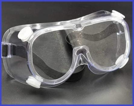 Occhiali estetista e protezione