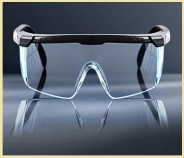 Occhiali fotocromatici protettivi