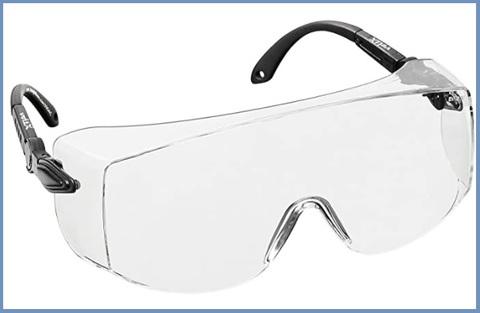 Occhiali plastica protezione