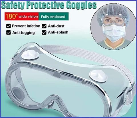 Occhiali usa e getta protezione
