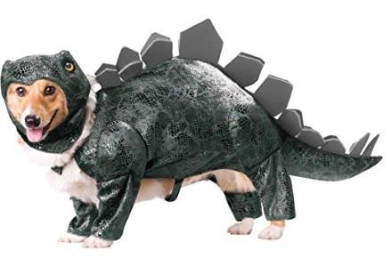 Costume da dinosauro per cagnolino