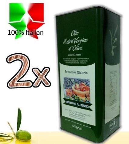 Olio di oliva extravergine direttamente dalla puglia
