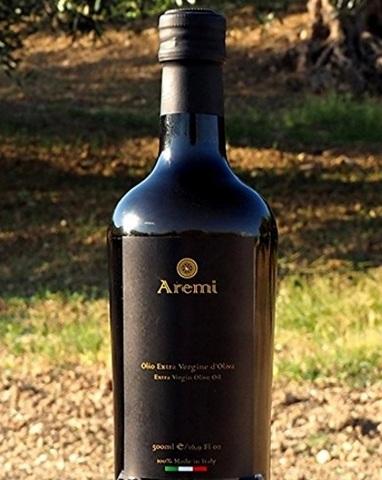 Olio extravergine di oliva aremi 500 ml italiano 100%