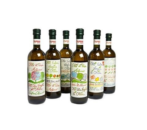 Olio extravergine di oliva di casa anfosso liguria
