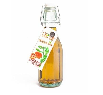 Olio aromatizzato extra vergine all'arancia liguria