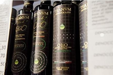 Olio extravergine di oliva fruttato peranzana