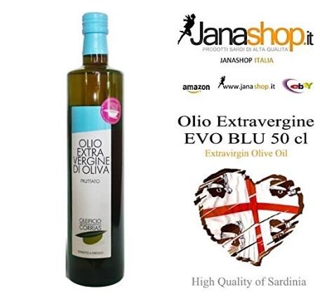Olio extravergine evoblu 50 cl sardo