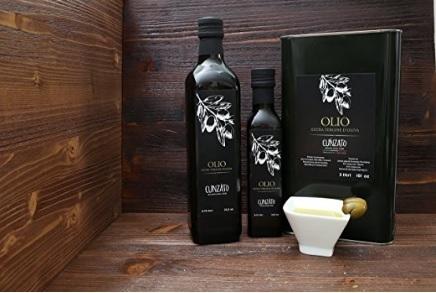 Olio extravergine di oliva cunzato siciliano