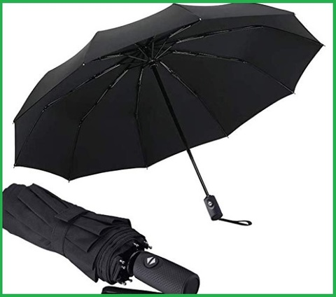 Ombrelli antivento pieghevoli