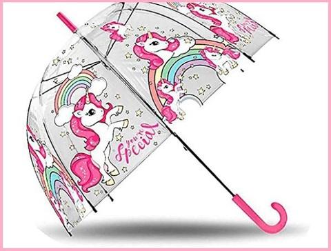 Ombrelli bambina trasparente