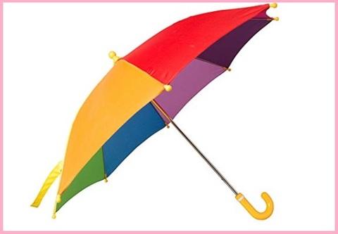 Ombrello colorato divertente