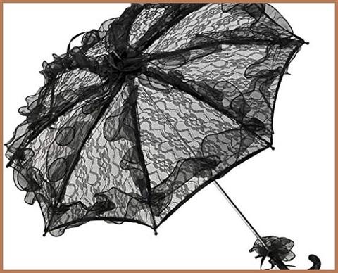 Ombrello gotico accessorio