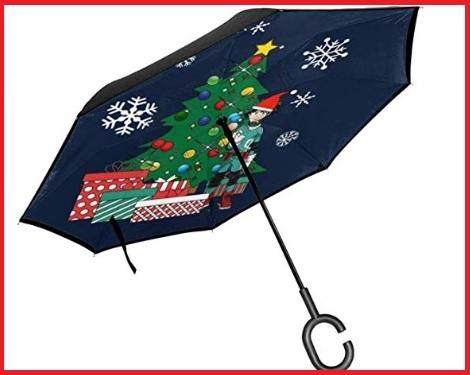 Ombrello Natale Pieghevole