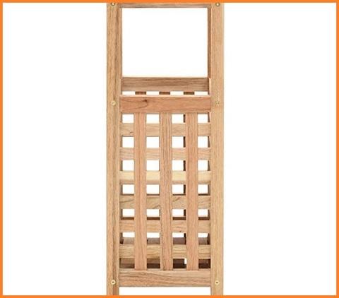 Portaombrelli in legno noce
