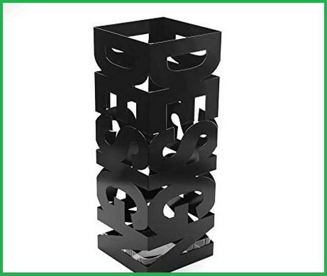 Portaombrelli moderno nero