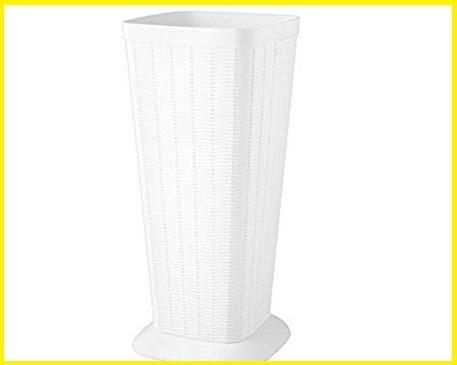 Portaombrelli bianco plastica