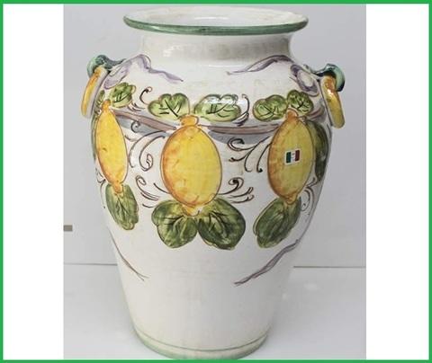 Portaombrelli ceramica decorata