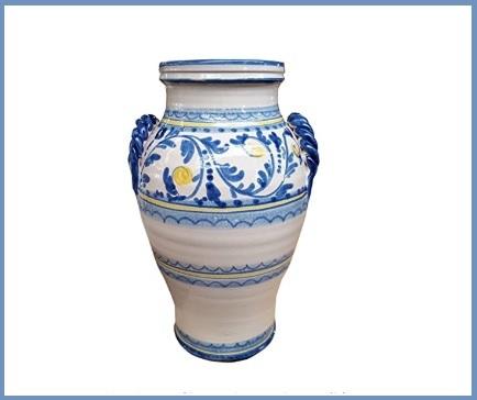 Portaombrelli ceramica caltagirone