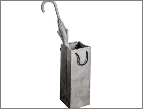 Portaombrelli ceramica argento