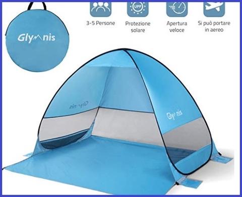 Ombrellone Tenda Da Spiaggia Portatile