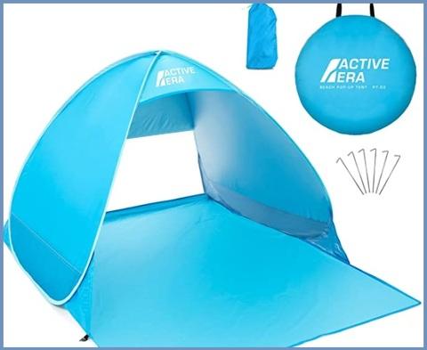 Tenda Parasole Da Spiaggia Portatile