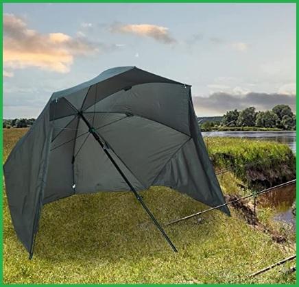 Ombrellone con tenda per il mare doppio colore