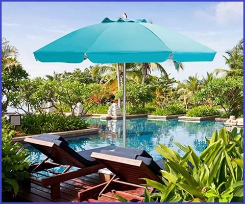 Ombrellone Da Spiaggia Antivento