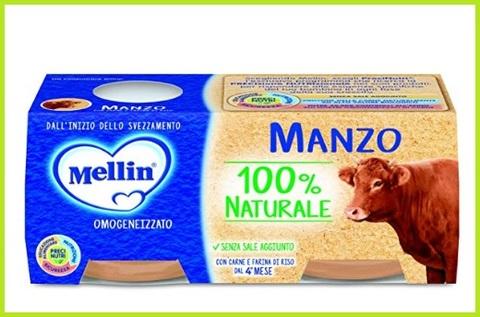 Omogeneizzati Alla Carne Manzo Naturale