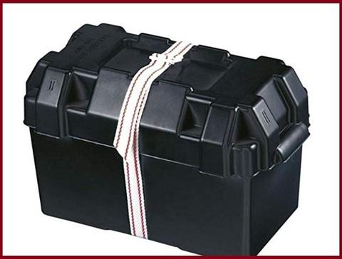 Cassetta porta batteria