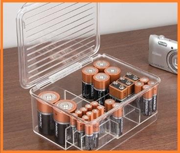 Box organizer per batterie