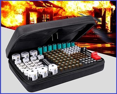 Custodia Da Trasporto Per Batterie Aa