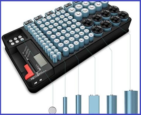 Organizzatore Per Batterie Di Vari Formati