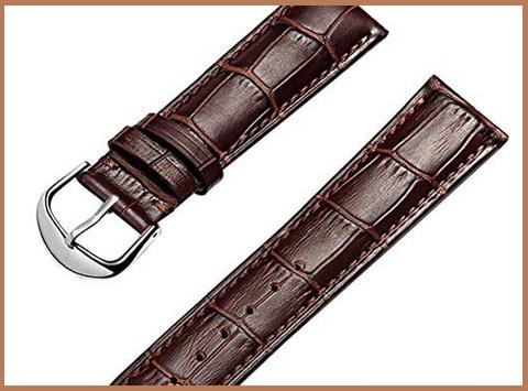 Cinturino orologio pelle