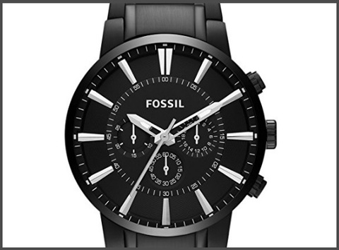 Orologi fossil uomo acciaio