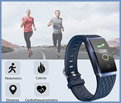 Orologio impermeabile fitness