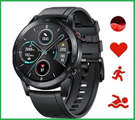 Orologio fitness uomo nero