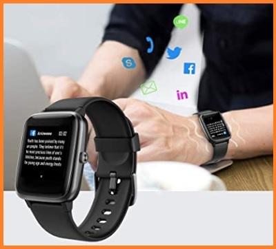 Orologio fitness cardiofrequenzimetro da polso