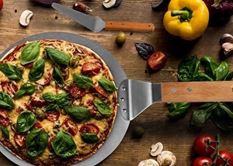 Paletta per pizza in acciaio
