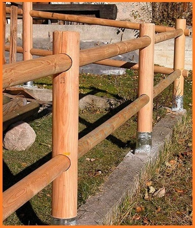 Pali tondi in legno