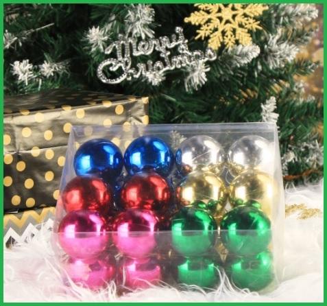 Palle Di Natale Colori Misti
