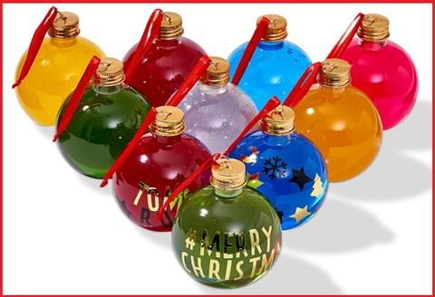 Palle Di Natale Trasparenti Da Riempire