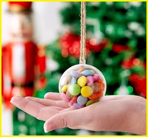 Palle Di Natale Personalizzate Trasparenti