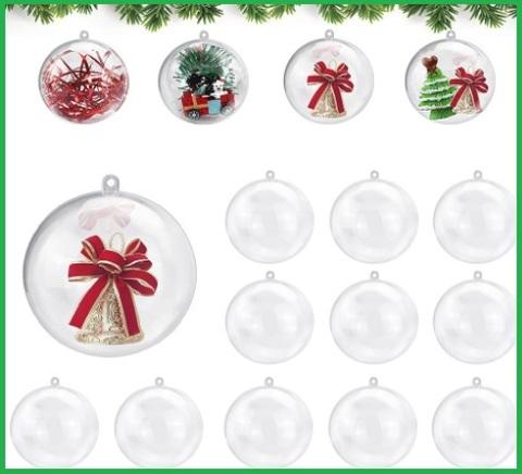 Palle Di Natale Trasparenti Grandi