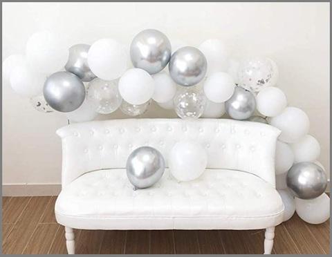 Palloncini argento metallizzato