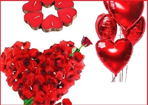 Palloncini cuore rosso