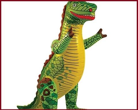 Palloncino dinosauro gonfiabile